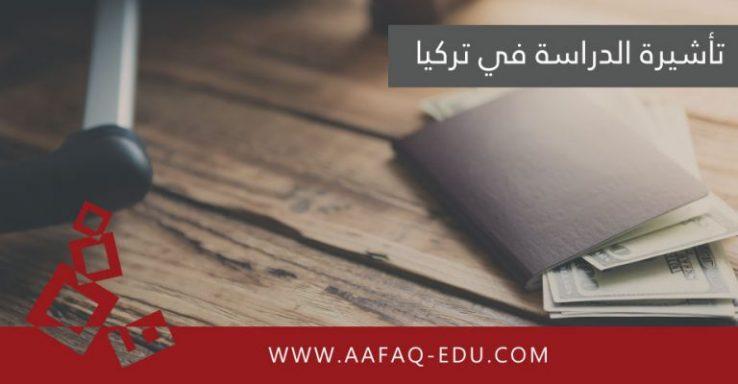 تأشيرة الدراسة في تركيا