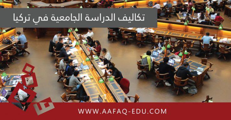 تكاليف الدراسة الجامعية في تركيا