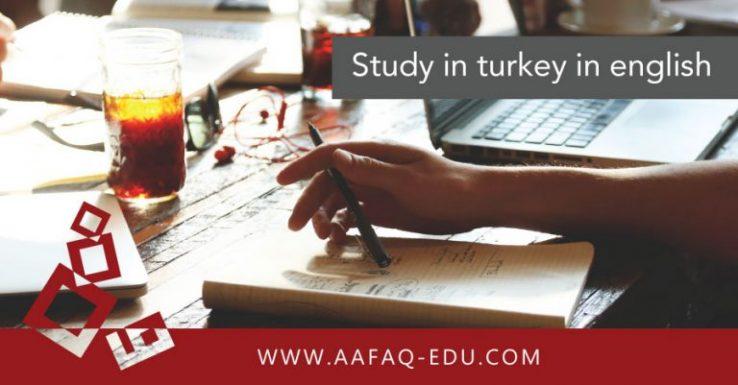 Study in turkey in english