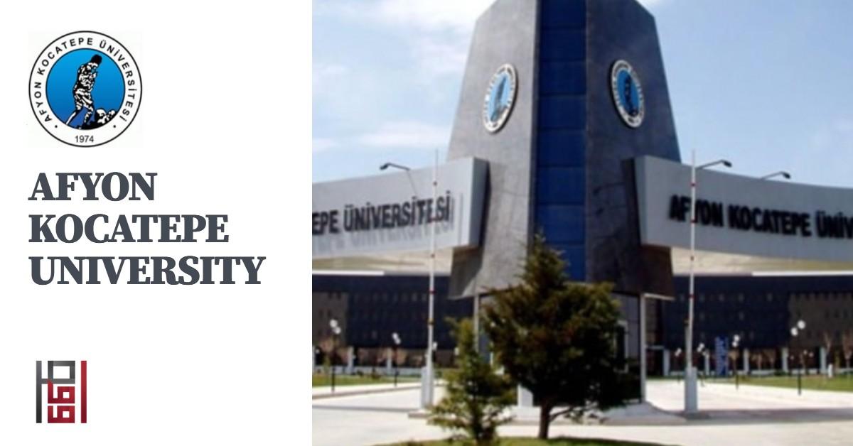 جامعة افيون كوجاتبة AFYON KOCATEPE UNIVERSITY